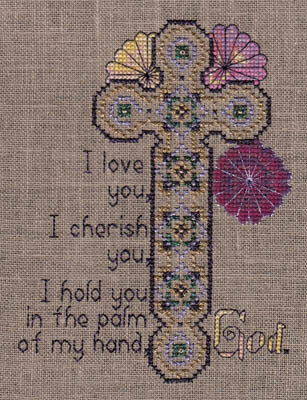 Love Cherish Hold You God - Cross Stitch Pattern