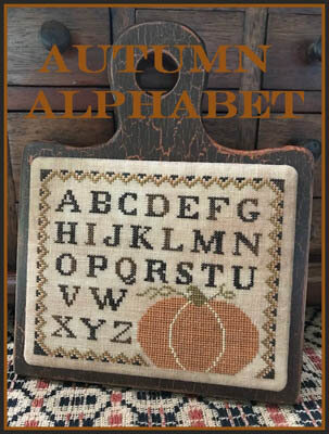 Autumn Alphabet - Cross Stitch Pattern