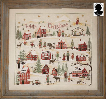 White Christmas - Cross Stitch Pattern