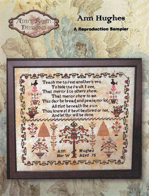 Anne Hughes - Cross Stitch Pattern