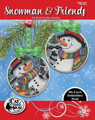 Snowman & Friends 3 & 4 - Cross Stitch Pattern