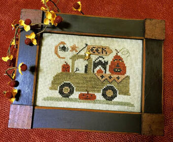 Trick or Treat Truck - Cross Stitch Pattern