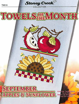 Towels of the Month - September Apples & Sunflower