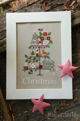 Celebrate Christmas - Cross Stitch Pattern