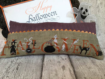 Ready for Halloween Night - Cross Stitch Pattern