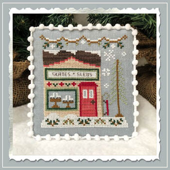 Skate & Sled Shop - Snow Village 2 -  Cross Stitch Pattern