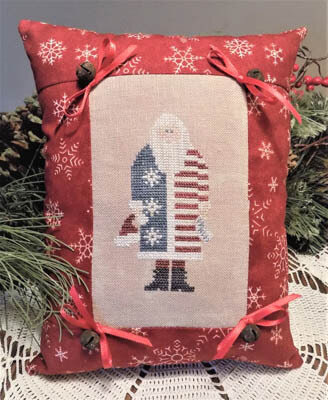 Christmas Patriot - Cross Stitch Pattern