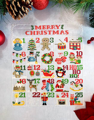 Christmas Calendar - Cross Stitch Pattern