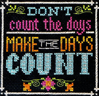 Words to Live By Part 12 - Cross Stitch Pattern