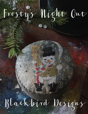 Frosty's Night Out - Cross Stitch Pattern