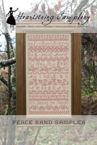 Peace Band Sampler - Cross Stitch Pattern