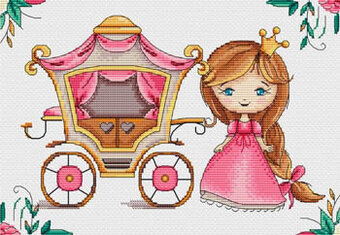 Princess Lili - Cross Stitch Pattern