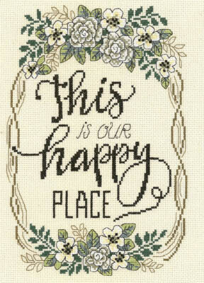 Our Happy Place - Cross Stitch Pattern