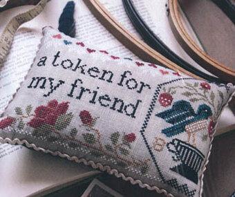 11 Cross Stitch Designs in Friendships Way by Blackbird Designs