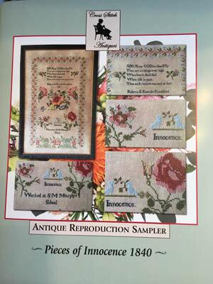 Infant Jesus Baby Sampler~Cross Stitch Antiques