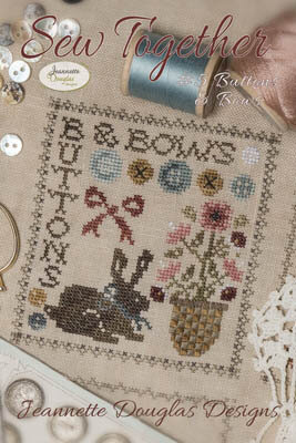Sew Together #5 Buttons & Bows - Cross Stitch Pattern