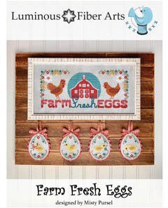Farm Fresh Eggs - Cross Stitch Pattern