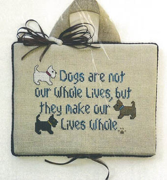 Dogs in Our Lives - Cross Stitch Pattern