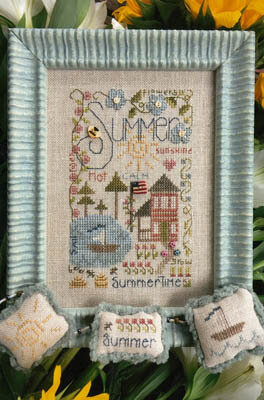 Summer Notes - Cross Stitch Pattern