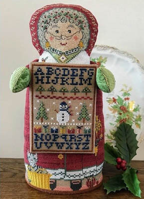 Mrs Santa's Sampler - Cross Stitch Pattern