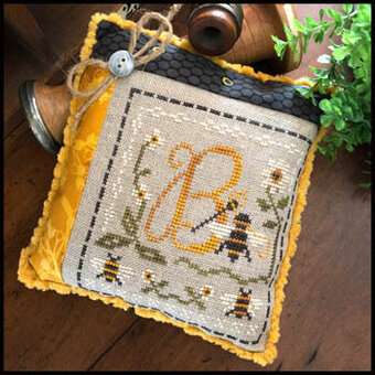 Stitching Bee - Cross Stitch Pattern
