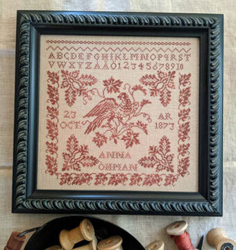 Anna Ohman 1873 - Cross Stitch Pattern