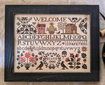 Quaker Welcome - Cross Stitch Pattern