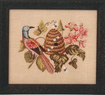 Visitor, The - Cross Stitch Pattern