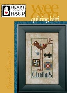 Quilting Bird - Wee One - Cross Stitch Pattern