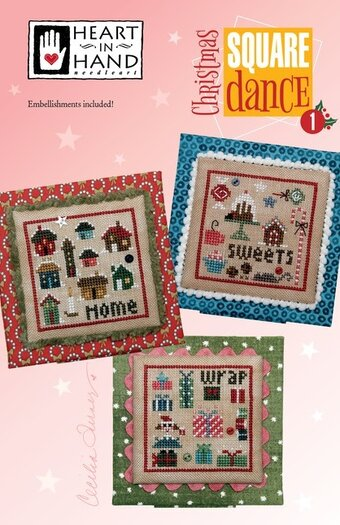 Christmas Square Dance Part 1 - Cross Stitch Pattern