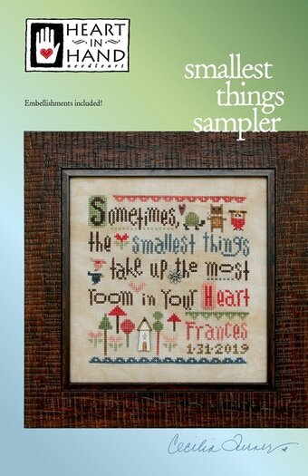 Smallest Thing Sampler - Cross Stitch Pattern
