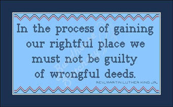 Wrongful Deeds - Cross Stitch Pattern