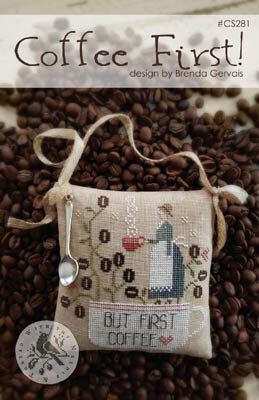 Coffee First! - Cross Stitch Pattern