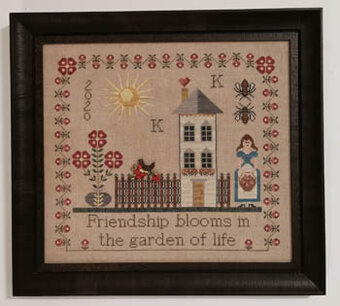 Friendship Blooms - Cross Stitch Pattern