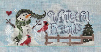 Winterful Friends - Cross Stitch Pattern
