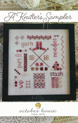 Knitter's Sampler, A - Cross Stitch Pattern