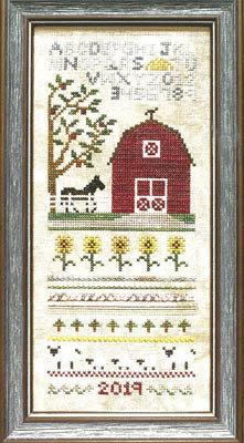 Sunflower Barn - Cross Stitch Pattern