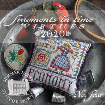 Economy - Fragments in Time 2020 #4 - Cross Stitch Pattern