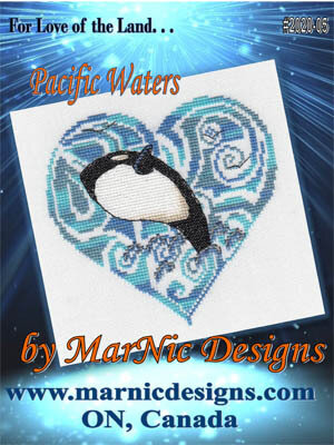 Pacific Waters - Cross Stitch Pattern