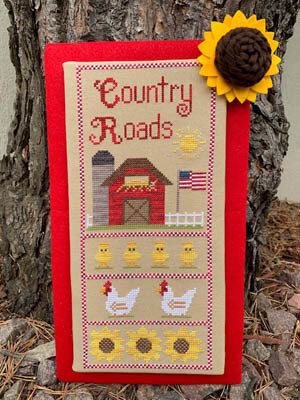 Country Roads - Cross Stitch Pattern