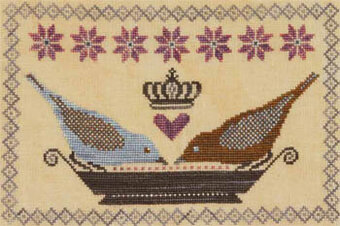 Noble Birdseed Banquet - Cross Stitch Pattern