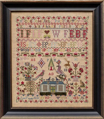 Jane Fiddes 1835 - Cross Stitch Pattern