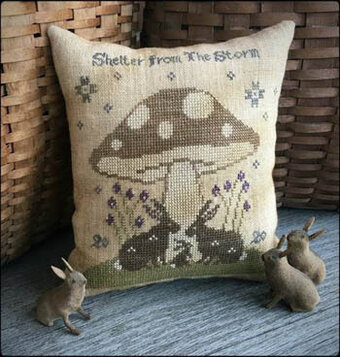 Shelter From the Storm - Cross Stitch Pattern
