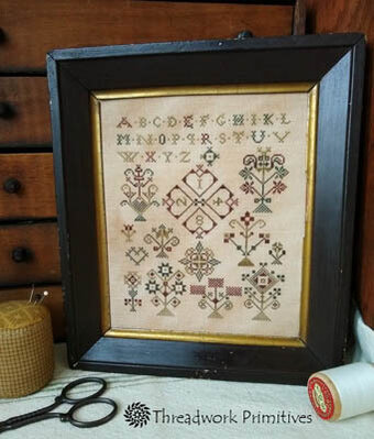 Handtuch Sampler - Cross Stitch Pattern