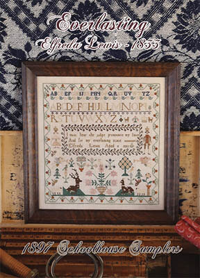 Everlasting Effreda Lewis 1833 - Cross Stitch Pattern