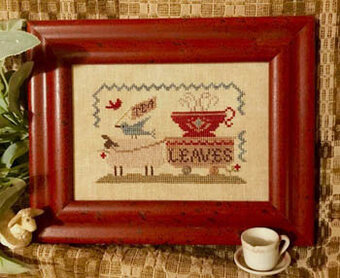 Delivery Tea Leaves - Cross Stitch Pattern