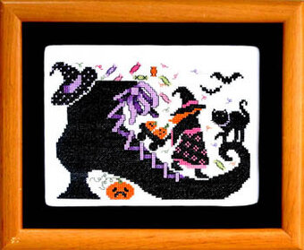 Old Witch Shoe - Cross Stitch Pattern