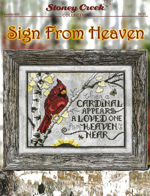 Sign From Heaven - Cross Stitch Pattern