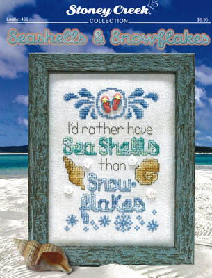 Seashells & Snowflakes - Cross Stitch Pattern