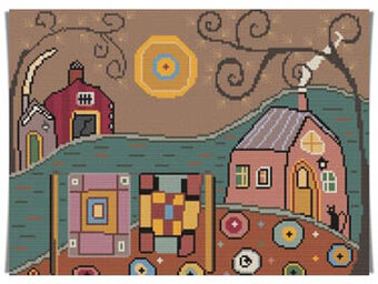 Quilting Farm - Cross Stitch Pattern